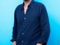 """David Foenkinos, ecrivain francais. Photographie realisee le 21 juin 2014 a l'occasion du 6em salon international du livre au format de poche """"Saint-Maur en Poche"""". St Maur,FRANCE-le 22/08/14"""