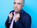"""Alain Baraton, jardinier francais. Photographie realisee a l'occasion du 6em salon international du livre au format de poche """"Saint-Maur en Poche"""". St Maur,FRANCE-le 21/06/14"""