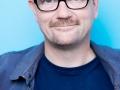 """Charb (Stephane Charbonnier), dessinateur satirique et journaliste francais.Photographie realisee a l'occasion du 6em salon international du livre au format de poche """"Saint-Maur en Poche"""".St Maur,FRANCE-le 22/06/14"""